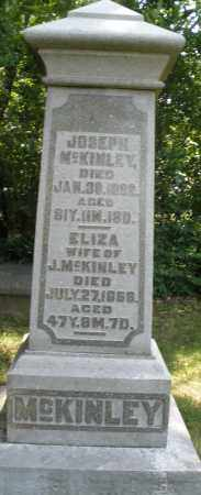MCKINLEY, JOSEPH - Warren County, Ohio | JOSEPH MCKINLEY - Ohio Gravestone Photos