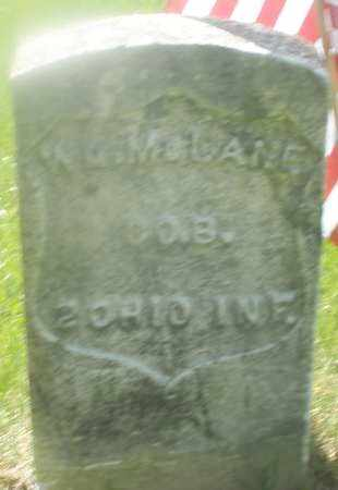 MCLANE, WILLIAM - Warren County, Ohio | WILLIAM MCLANE - Ohio Gravestone Photos
