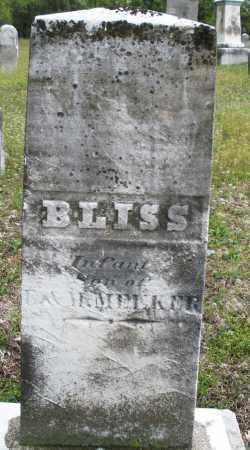 MEEKER, BLISS - Warren County, Ohio | BLISS MEEKER - Ohio Gravestone Photos
