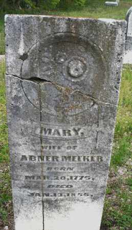 MEEKER, MARY - Warren County, Ohio | MARY MEEKER - Ohio Gravestone Photos