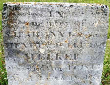 MEEKER, SARAH A. - Warren County, Ohio | SARAH A. MEEKER - Ohio Gravestone Photos
