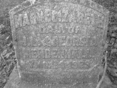 MENDENHALL, MARY ELIZABETH - Warren County, Ohio | MARY ELIZABETH MENDENHALL - Ohio Gravestone Photos