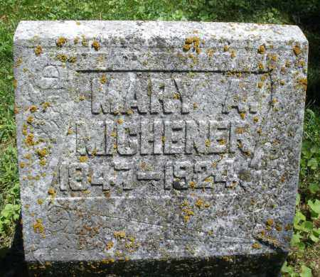 MICHENER, MARY A. - Warren County, Ohio | MARY A. MICHENER - Ohio Gravestone Photos