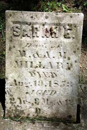 MILLARD, SARAH E. - Warren County, Ohio | SARAH E. MILLARD - Ohio Gravestone Photos