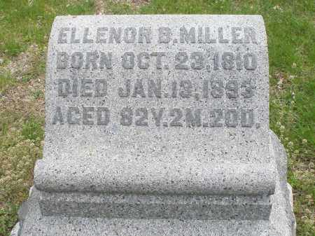 MILLER, ELLENOR B - Warren County, Ohio | ELLENOR B MILLER - Ohio Gravestone Photos