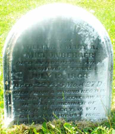 MILTONBERGER, JOHN WILLIAM - Warren County, Ohio | JOHN WILLIAM MILTONBERGER - Ohio Gravestone Photos