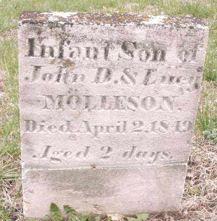 MOLLESON, INFANT SON - Warren County, Ohio | INFANT SON MOLLESON - Ohio Gravestone Photos