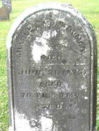 MONTGOMERY, CHARLES - Warren County, Ohio | CHARLES MONTGOMERY - Ohio Gravestone Photos