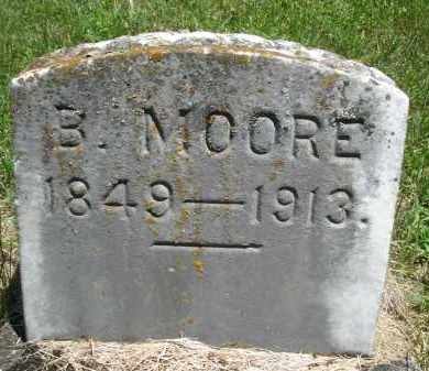 MOORE, B. - Warren County, Ohio | B. MOORE - Ohio Gravestone Photos