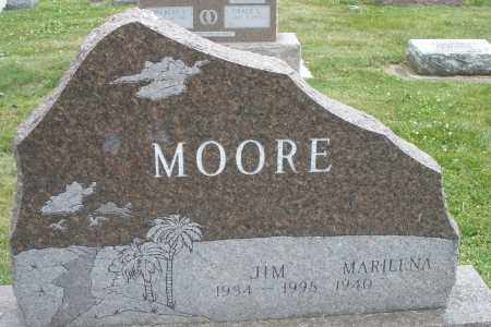 MOORE, JIM - Warren County, Ohio | JIM MOORE - Ohio Gravestone Photos