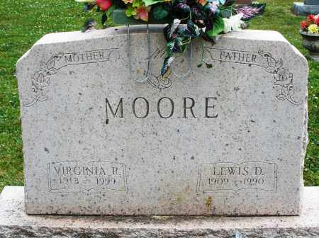 MOORE, VIRGINIA - Warren County, Ohio | VIRGINIA MOORE - Ohio Gravestone Photos