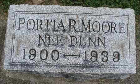 MOORE, PORTIA R. - Warren County, Ohio | PORTIA R. MOORE - Ohio Gravestone Photos