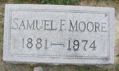 MOORE, SAMUEL F. - Warren County, Ohio | SAMUEL F. MOORE - Ohio Gravestone Photos