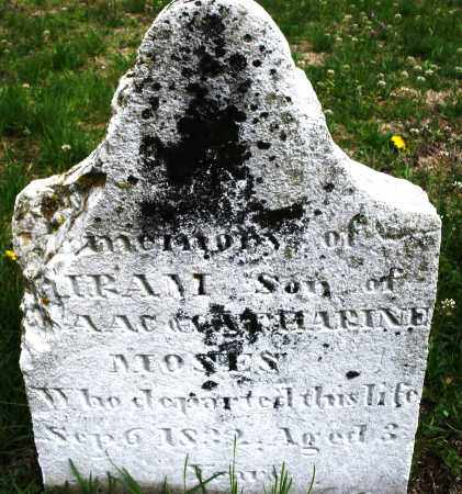 MOSES, HIRAM - Warren County, Ohio | HIRAM MOSES - Ohio Gravestone Photos