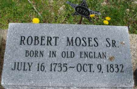 MOSES, ROBERT  SR - Warren County, Ohio | ROBERT  SR MOSES - Ohio Gravestone Photos