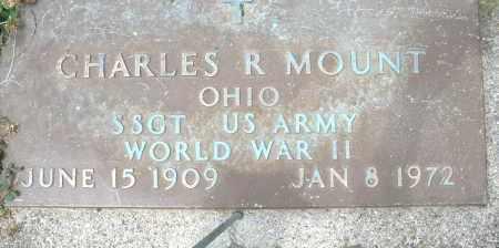 MOUNT, CHARLES  R. - Warren County, Ohio | CHARLES  R. MOUNT - Ohio Gravestone Photos
