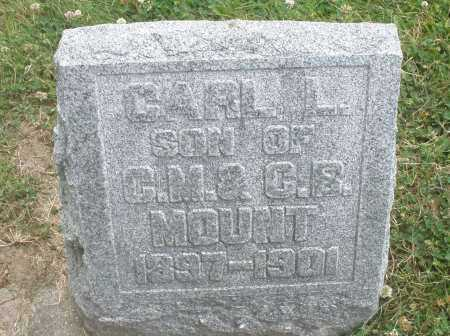 MOUNT, CARL L. - Warren County, Ohio | CARL L. MOUNT - Ohio Gravestone Photos