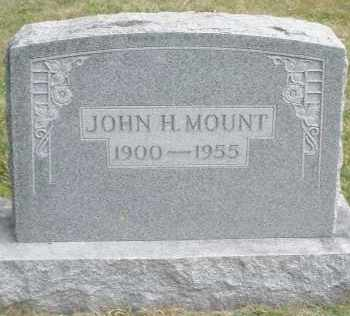 MOUNT, JOHN H. - Warren County, Ohio | JOHN H. MOUNT - Ohio Gravestone Photos