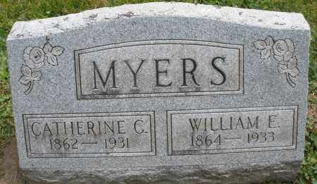 MYERS, CATHERINE C. - Warren County, Ohio | CATHERINE C. MYERS - Ohio Gravestone Photos