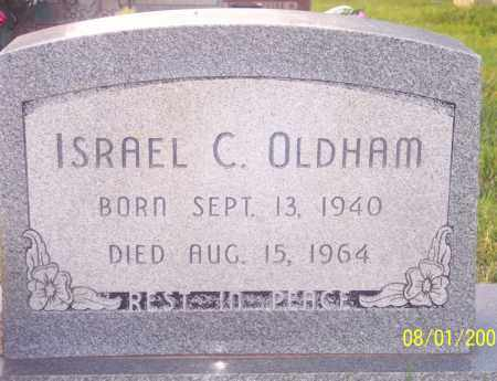 OLDHAM, ISRAEL CLAY - Warren County, Ohio | ISRAEL CLAY OLDHAM - Ohio Gravestone Photos