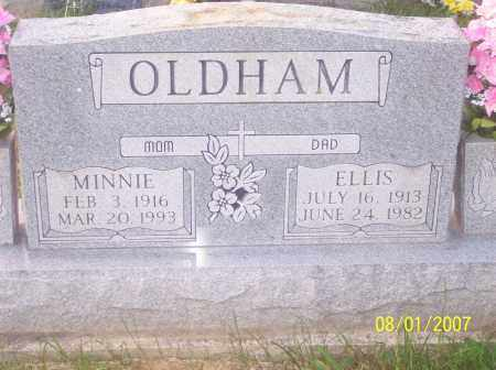 OLDHAM, MINNIE EUNICE - Warren County, Ohio | MINNIE EUNICE OLDHAM - Ohio Gravestone Photos