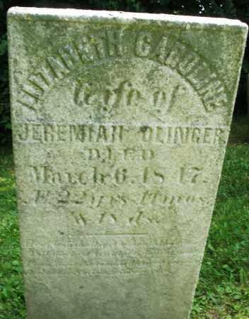 OLINGER, ELIZABETH CAROLINE - Warren County, Ohio | ELIZABETH CAROLINE OLINGER - Ohio Gravestone Photos
