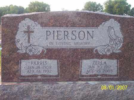 PIERSON, FARRIS - Warren County, Ohio | FARRIS PIERSON - Ohio Gravestone Photos