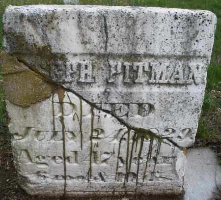 PITMAN, JOSEPH - Warren County, Ohio | JOSEPH PITMAN - Ohio Gravestone Photos