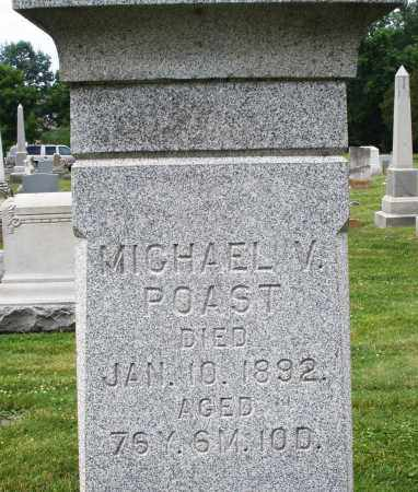 POAST, MICHAEL V. - Warren County, Ohio | MICHAEL V. POAST - Ohio Gravestone Photos