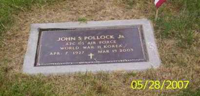 POLLOCK JR., JOHN S. - Warren County, Ohio | JOHN S. POLLOCK JR. - Ohio Gravestone Photos