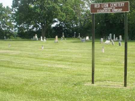 RED LION, CEMETERY - Warren County, Ohio | CEMETERY RED LION - Ohio Gravestone Photos
