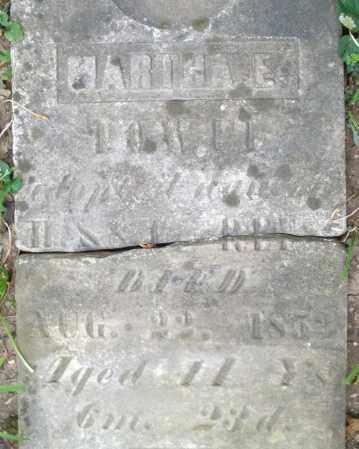 REES, MARTHA E. - Warren County, Ohio | MARTHA E. REES - Ohio Gravestone Photos