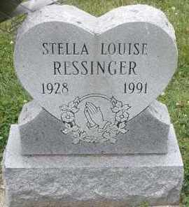 RESSINGER, STELLA LOUISE - Warren County, Ohio | STELLA LOUISE RESSINGER - Ohio Gravestone Photos