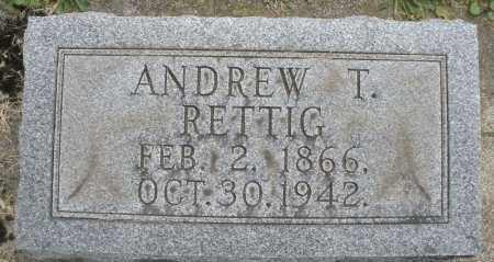 RETTIG, ANDREW T. - Warren County, Ohio | ANDREW T. RETTIG - Ohio Gravestone Photos