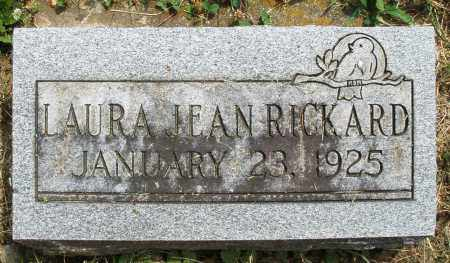 RICKARD, LAURA JEAN - Warren County, Ohio | LAURA JEAN RICKARD - Ohio Gravestone Photos