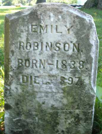 ROBINSON, EMILY - Warren County, Ohio | EMILY ROBINSON - Ohio Gravestone Photos