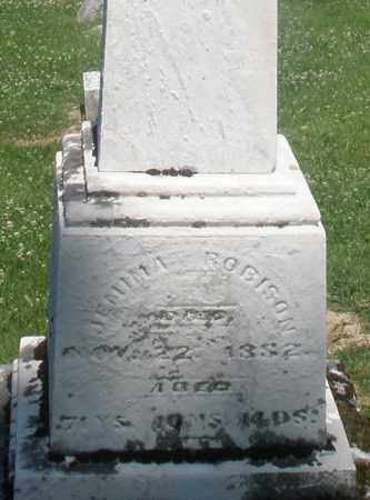 ROBISON, JEMIMA - Warren County, Ohio | JEMIMA ROBISON - Ohio Gravestone Photos