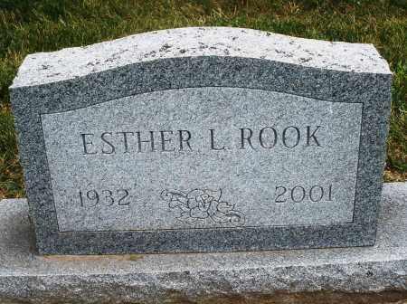 ROOK, ESTHER L. - Warren County, Ohio | ESTHER L. ROOK - Ohio Gravestone Photos