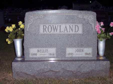 ROWLAND, NELLIE - Warren County, Ohio | NELLIE ROWLAND - Ohio Gravestone Photos