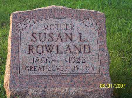 ROWLAND, SUSAN L. - Warren County, Ohio | SUSAN L. ROWLAND - Ohio Gravestone Photos