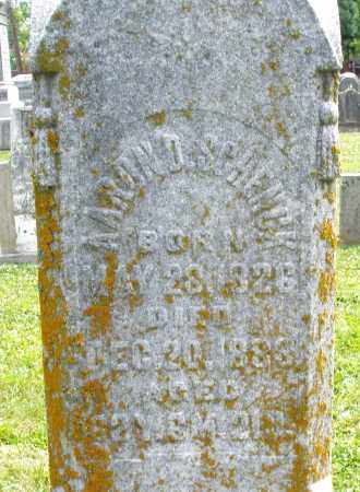 SCHENCK, AARON D. - Warren County, Ohio | AARON D. SCHENCK - Ohio Gravestone Photos