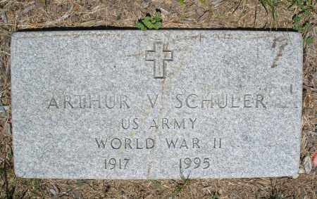 SCHULER, ARTHUR V. - Warren County, Ohio | ARTHUR V. SCHULER - Ohio Gravestone Photos