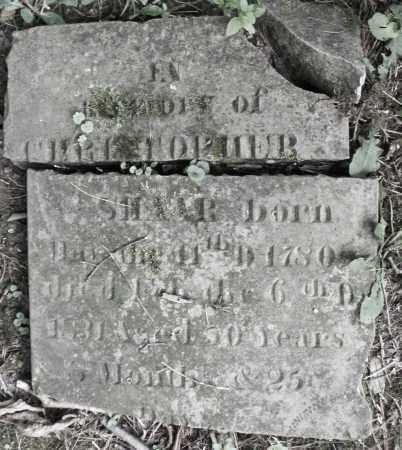 SHAAR, CHRISTOPHER - Warren County, Ohio | CHRISTOPHER SHAAR - Ohio Gravestone Photos