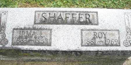SHAFFER, IRMA L. - Warren County, Ohio | IRMA L. SHAFFER - Ohio Gravestone Photos