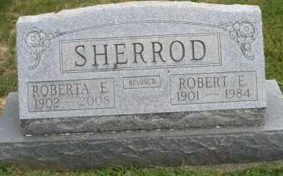 SHERROD, ROBERT E. - Warren County, Ohio | ROBERT E. SHERROD - Ohio Gravestone Photos