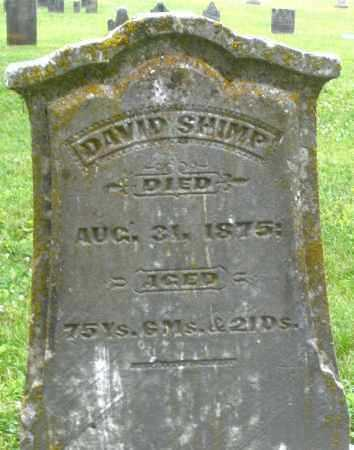 SHIMP, DAVID - Warren County, Ohio | DAVID SHIMP - Ohio Gravestone Photos