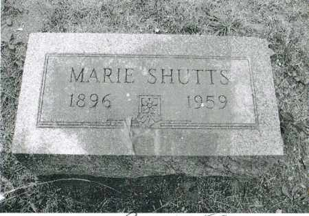 SHUTTS, MARIE - Warren County, Ohio | MARIE SHUTTS - Ohio Gravestone Photos
