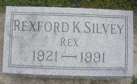 SILVEY, REXFORD K. - Warren County, Ohio   REXFORD K. SILVEY - Ohio Gravestone Photos