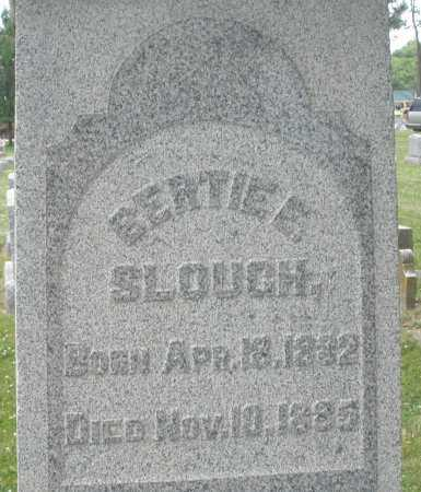 SLOUGH, BERTIE E. - Warren County, Ohio | BERTIE E. SLOUGH - Ohio Gravestone Photos