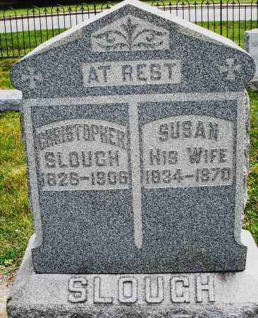 SLOUGH, CHRISTOPHER - Warren County, Ohio | CHRISTOPHER SLOUGH - Ohio Gravestone Photos
